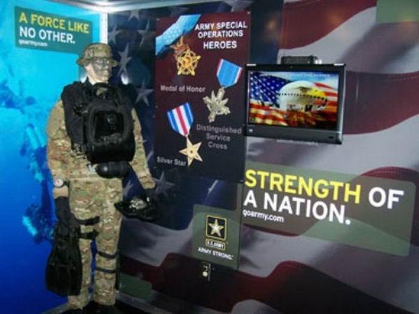 Как вербуют в армию США