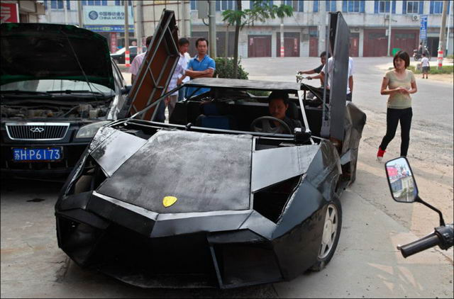 Lamborghini Reventon из металлолома