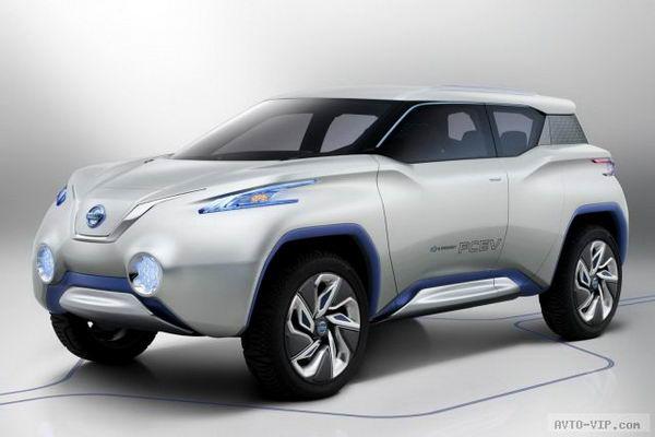 Концепт внедорожника Nissan TeRRA и суицидальные двери