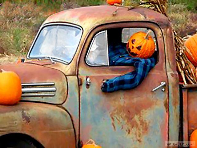 Хэллоуин — костюмы для машин
