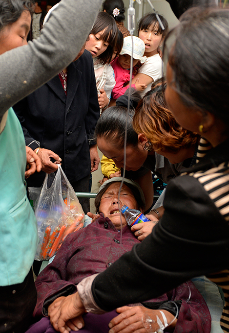 Землетрясение в Китае 2013