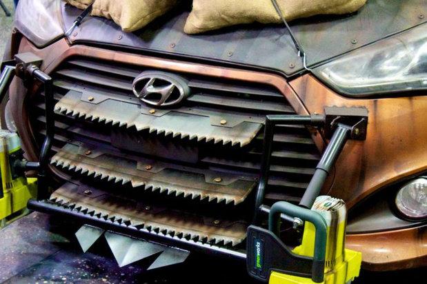 Hyundai создал автомобиль против зомби