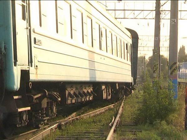 столкновение поездов в Алматы